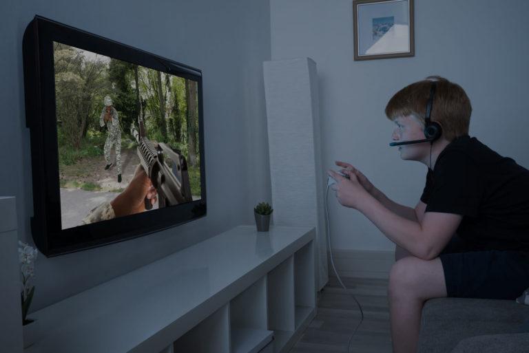 Ado addict aux jeux vidéo