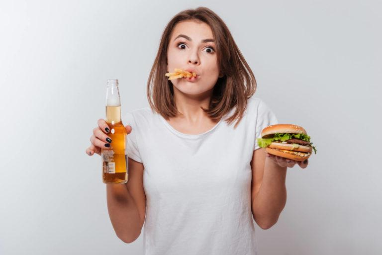 comment moins manger