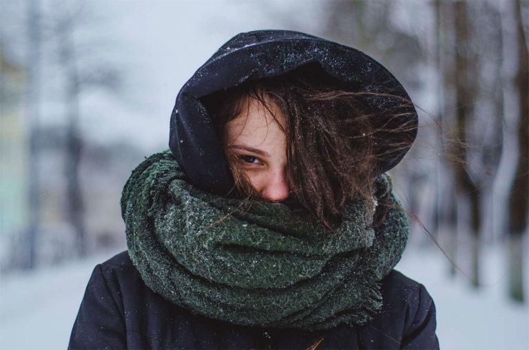 protéger sa gorge en hiver